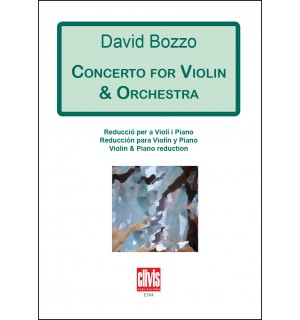 Concerto for Violin & Orchestra