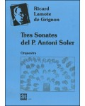 Three sonatas by Antonio Soler