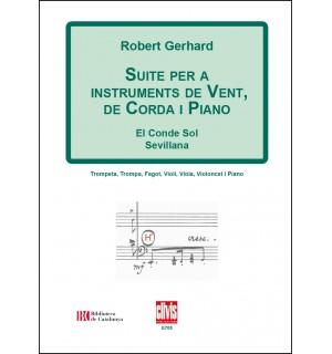 Suite per a instruments de vent, de corda i piano