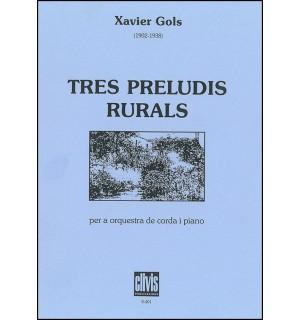 Tres preludis rurals
