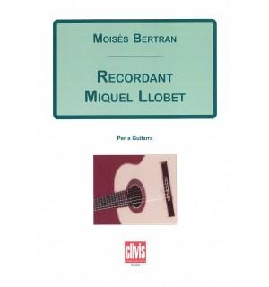 Recordant Miquel Llobet