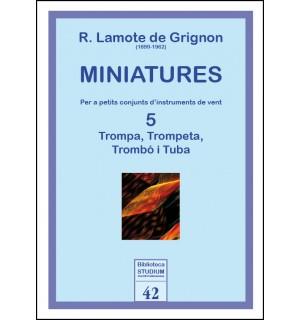 Miniatures 5