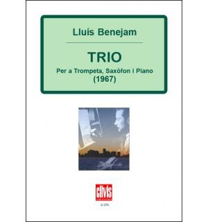 Trio per a trompeta, saxòfon alt i piano