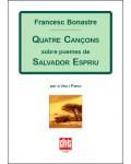 Quatre caçons sobre poemes de Salvador Espriu