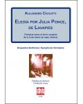 Elegía por Julia Ponce, de Lavapiés