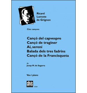 Cinc cançons sobre poemes de Josep M. de Sagarra