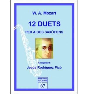 12 duets per a dos saxòfons