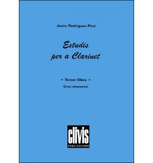 Estudis per a clarinet - Tercer llibre