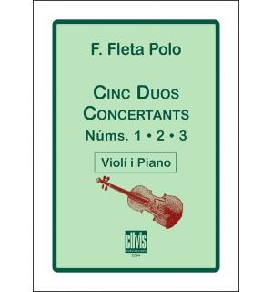 Cinc duos concertants