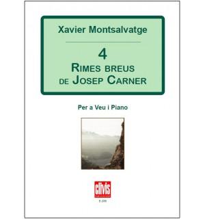 4 Rimes breus de Josep Carner