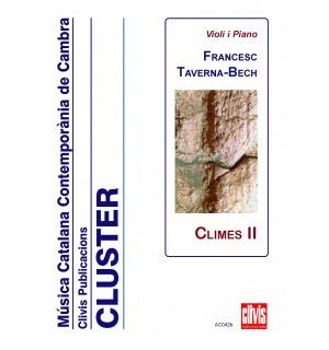 Climes II (versio per a violi i piano)
