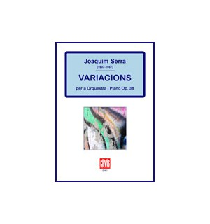 Variacions per a orquestra i piano