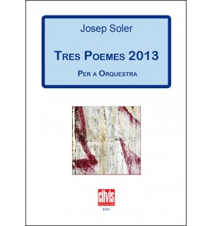 Tres Poemes 2013