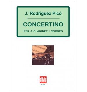 Concertino per a Clarinet i Cordes
