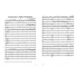 Concert per a Tuba i Orquestra