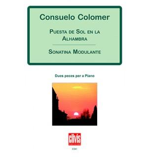 Puesta de sol en la Alhambra - Sonatina modulante