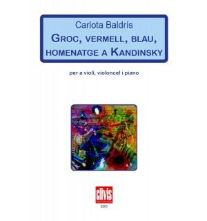 Groc, Vermell, Blau, Homenatge a Kandinsky
