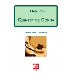 Quintet de corda [partitura]