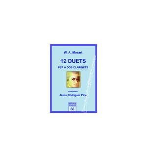 12 duets per a dos clarinets