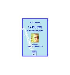 12 duets per a dos saxofons