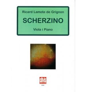 Scherzino (per a viola i piano)