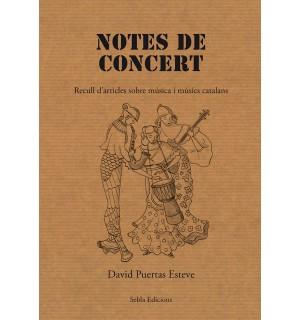 Notes de concert