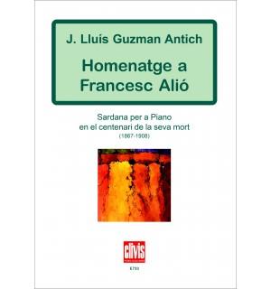 Homenatge a Francesc Alió