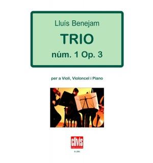 Trio núm. 1 Op. 3