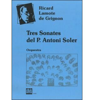 Tres sonates del P. Antoni Soler