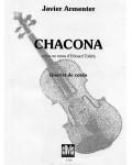 Chacona (sobre un tema de Eduard Toldrà)