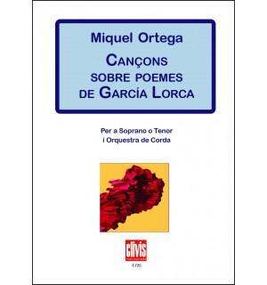 Cançons sobre poemes de García Lorca