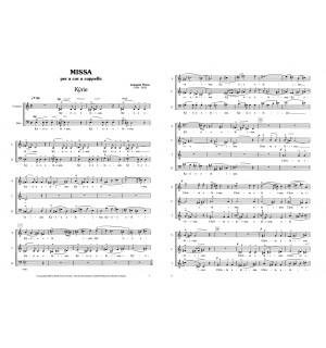 Missa a 6 veus per cor a capella