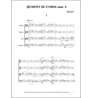 Quartet de corda núm. 3 (1950)