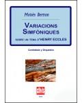 Variacions simfòniques s. tema d'H. Eccles (Cb+Orch)